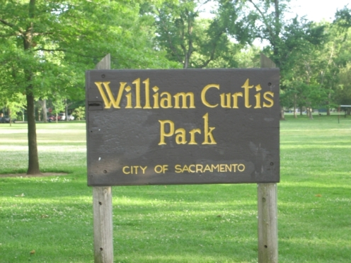 curtis park sign