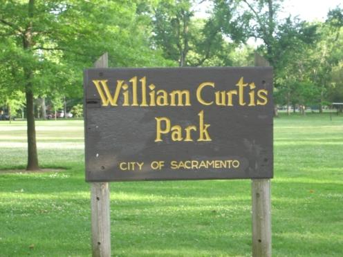 curtis park sign