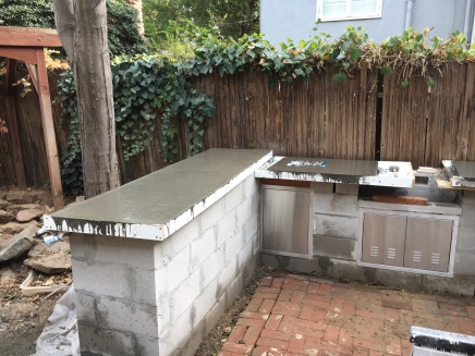 counter tops poured 1